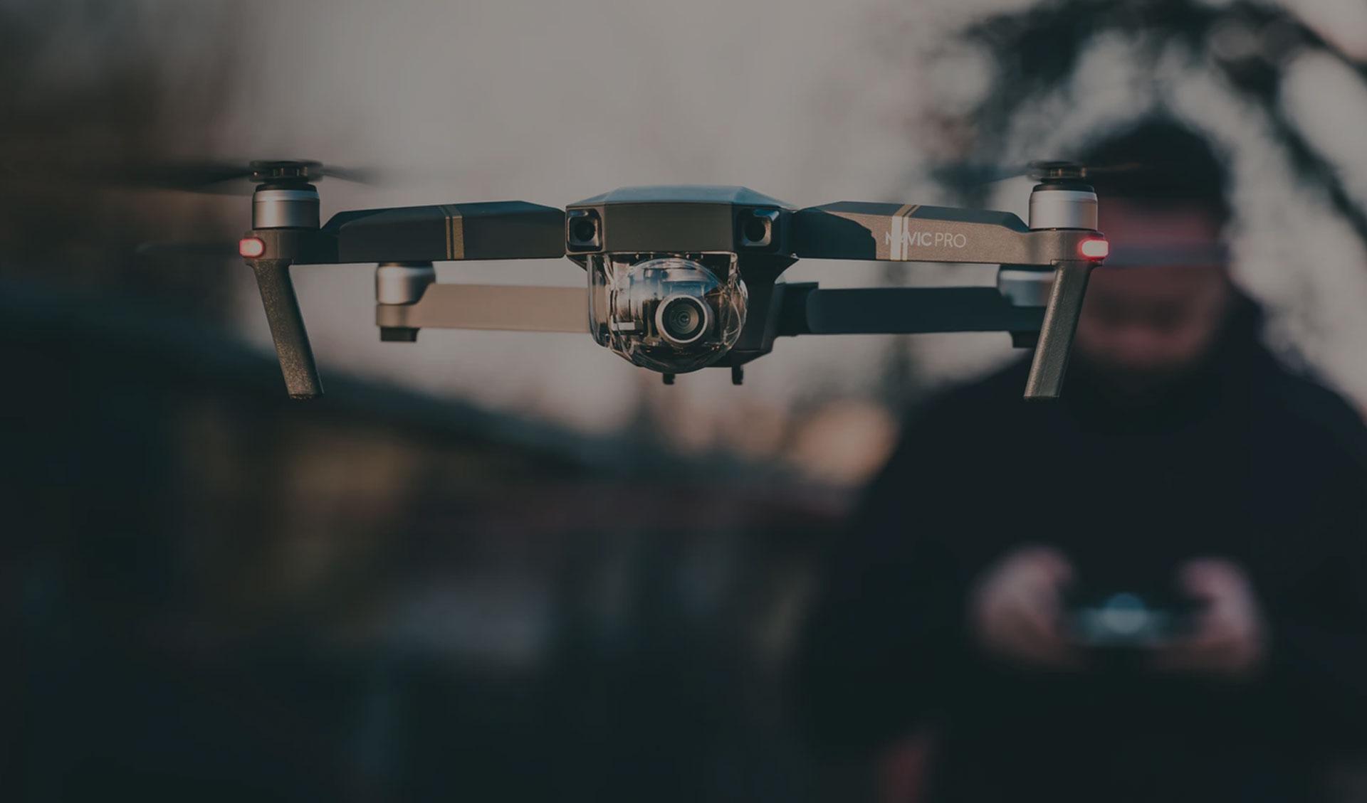 curso profesional piloto de drones