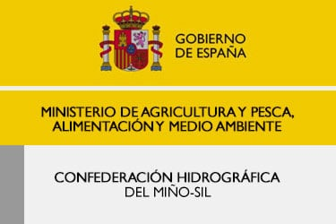 logo confederacion hidrografica del mino sil